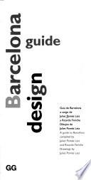libro Barcelona Design Guide