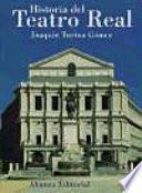 libro Historia Del Teatro Real