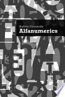 libro Alfanumerics (auditorio Pedro Vaello). Concejalía De Cultura Del Ayuntamiento De El Campello