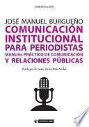 libro Comunicación Institucional Para Periodistas