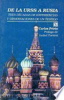 libro De La Urss A Rusia