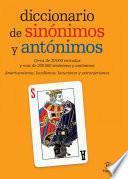 libro Diccionario De Sinónimos Y Antónimos