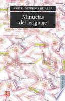 libro Minucias Del Lenguaje