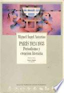 libro París 1924 1933