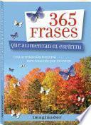 libro 365 Frases Que Alimentan El Espíritu