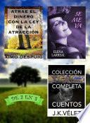 Atrae El Dinero Con La Ley De La Atracción + Se Me Va + Colección Completa Cuentos