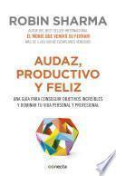 libro Audaz, Productivo Y Feliz