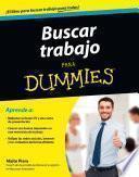 libro Buscar Trabajo Para Dummies   Bolsillo