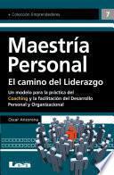 libro Maestría Personal