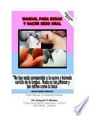 libro Manual Para Besar Y Hacer Sexo Oral