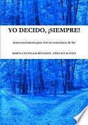 libro Yo Decido, ¡siempre!