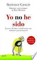 libro Yo No He Sido