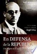 libro En Defensa De La República