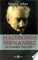 libro Macedonio Fernández