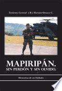 libro Mapiripn. Sin Perdn Y Sin Olvido.