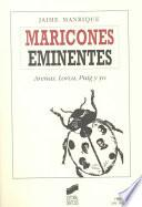 libro Maricones Eminentes