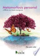libro Metamorfosis Personal. Ahora Me Siento Mariposa