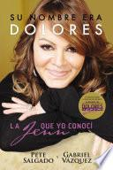 libro Su Nombre Era Dolores