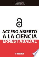 libro Acceso Abierto A La Ciencia