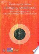 libro Crónica Ambiental