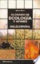 libro Glosario De Ecología Y Afines