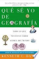 libro Que Se Yo De Geografia