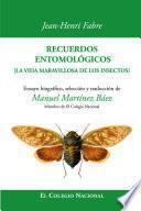 libro Recuerdos Entomológicos
