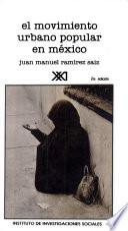 libro El Movimiento Urbano Popular En México