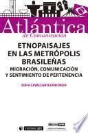 libro Etnopaisajes En Las Metrópolis Brasileñas