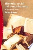 libro Historia Social Del Conocimiento