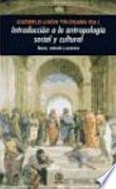 libro Introduccion A La Antropología Social Y Cultural