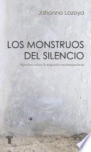 libro Los Monstruos Del Silencio