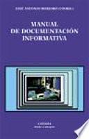 libro Manual De Documentación Informativa