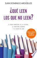 libro ¿qué Leen Los Que No Leen?