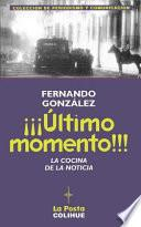 libro ¡¡¡Último Momento!!!