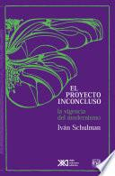 libro El Proyecto Inconcluso