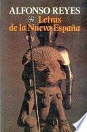 Letras De La Nueva España