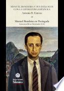 libro Manuel Bandeira Y Sus Diálogos Con La Literatura Española