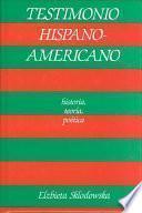 libro Testimonio Hispanoamericano