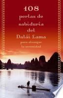 libro 108 Perlas De Sabiduría Del Dalái Lama Para Alcanzar La Serenidad