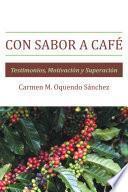 libro Con Sabor A Café