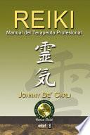 libro Reiki. Manual Del Terapeuta Profesional