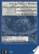 libro Diálogo Político Del Estado De Alemania Y Comparación De España Con Las Demás Naciones