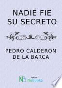 libro Nadie Fie Su Secreto