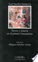 libro Terror Y Miseria En El Primer Franquismo