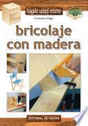 libro Bricolaje Con Madera