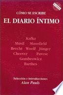 Cómo Se Escribe El Diario íntimo
