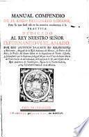 Manual Compendio De El Regio Patronato Indiano
