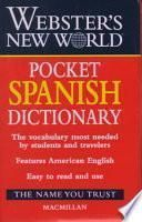 Webster S New World Pocket Spanish Dictionary
