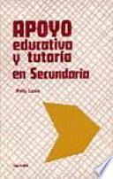 libro Apoyo Educativo Y Tutoría En Secundaria